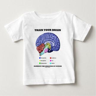 Entrene a su cerebro eliminan la sensación del camiseta de bebé