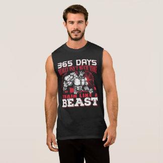 Entrenemos como una camiseta de la bestia