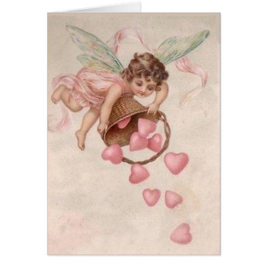 Enviando amor su manera - tarjeta del día de San