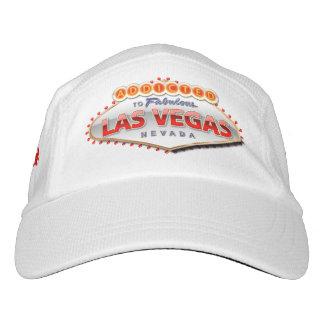 Enviciado a Las Vegas, muestra divertida de Nevada Gorra De Alto Rendimiento