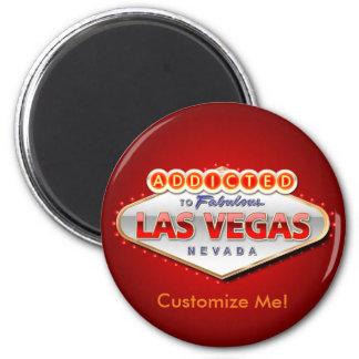 Enviciado a Las Vegas, muestra divertida de Nevada Imán