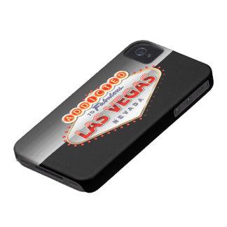 Enviciado a Las Vegas, muestra divertida de Nevada iPhone 4 Case-Mate Cárcasa