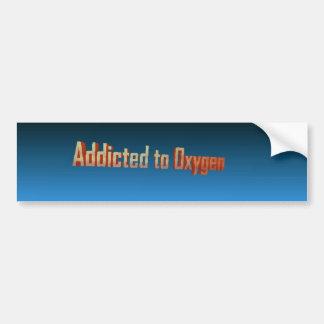 Enviciado al oxígeno pegatina de parachoque