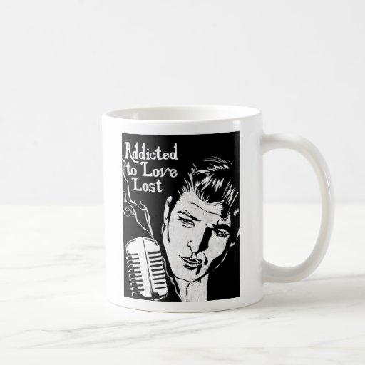 Enviciado para amar perdido taza de café