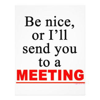 Envíele a un humor sarcástico de la oficina de la  flyer personalizado