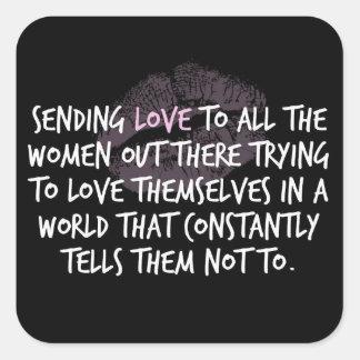 Envío del pegatina del amor