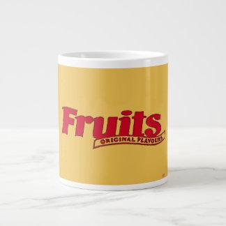 Envoltura de las frutas del ópalo de los años 80 taza grande