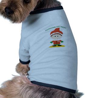 Envoltura profesional del regalo ropa de perros