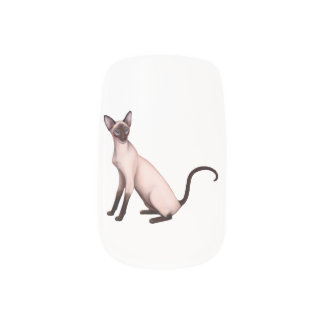 Envolturas Para Uñas Abrigos amistosos del arte del clavo del gato