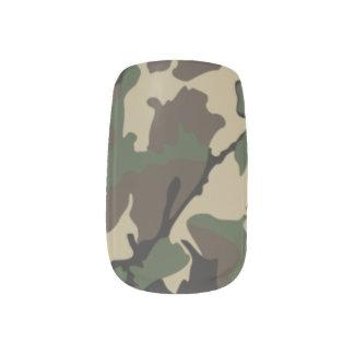 Envolturas Para Uñas Abrigos del clavo de Camo Minx®