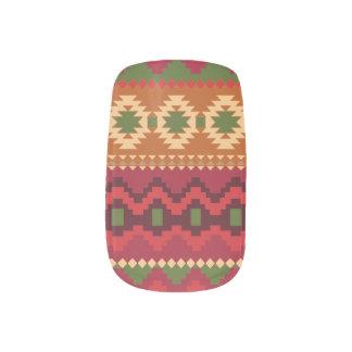 Envolturas Para Uñas Arte azteca del clavo de la moza descarada de la