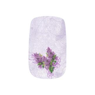 Envolturas Para Uñas Arte del clavo de las lilas