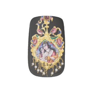 Envolturas Para Uñas Arte persa del clavo de la joya