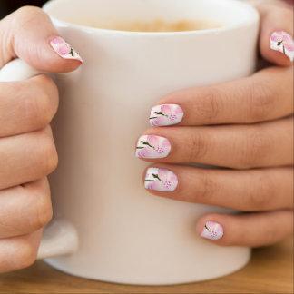 Envolturas Para Uñas Bonito en floral rosado