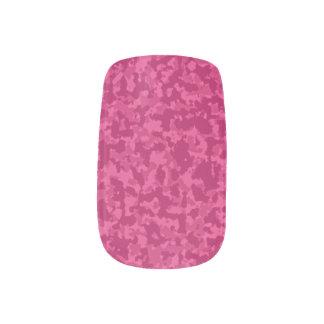 Envolturas Para Uñas Camo rosado