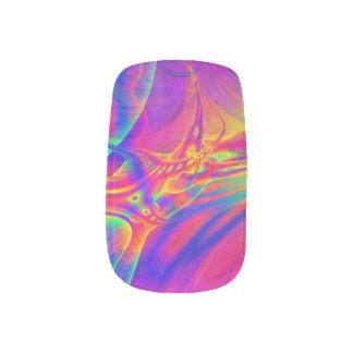 Envolturas Para Uñas Clavos del fractal de la moza descarada