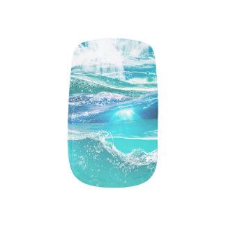 Envolturas Para Uñas El agua deslumbra la impresión