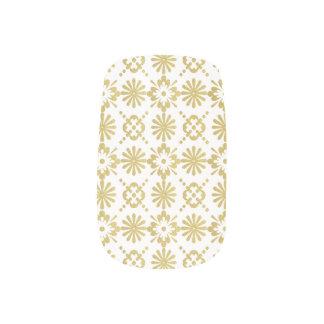 Envolturas Para Uñas El Victorian de oro inspiró el modelo