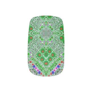 Envolturas Para Uñas Extracto verde fluorescente Trippy