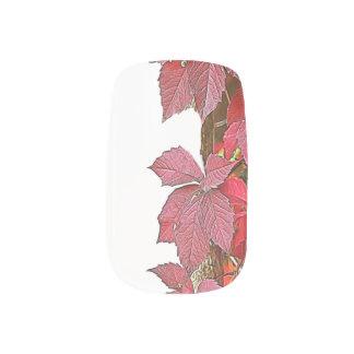 Envolturas Para Uñas hoja del otoño en árbol