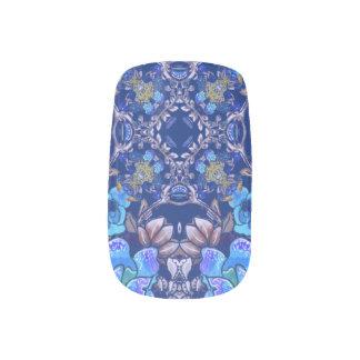 Envolturas Para Uñas Modelo floral de la acuarela del lux caprichoso