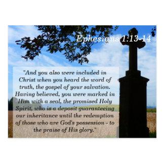 Ephesians 1 tarjeta de memoria cruzada de la