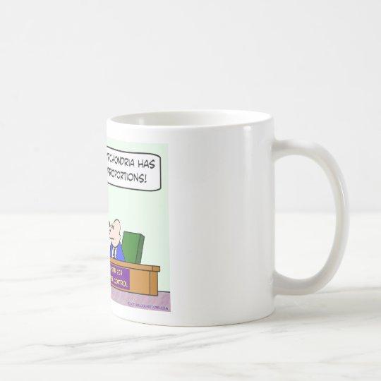 epidemia de la hipocondría del Centro de control Taza De Café