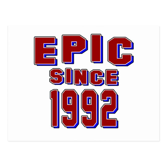 Epopeya desde 1992 postal