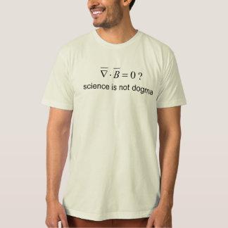 Equations Del Dot B cero de la camiseta de la