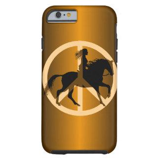 equestrian de la paz funda para iPhone 6 tough