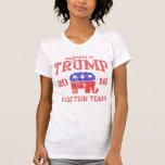Equipo 2016 de la elección de Donald Trump Camiseta