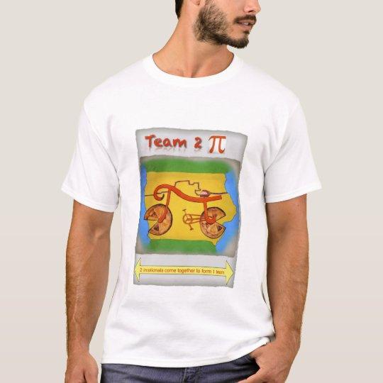 Equipo 2 pi camiseta