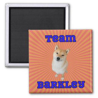 Equipo Barkley - imán cuadrado de 2 pulgadas