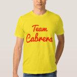 Equipo Cabrera Camisetas