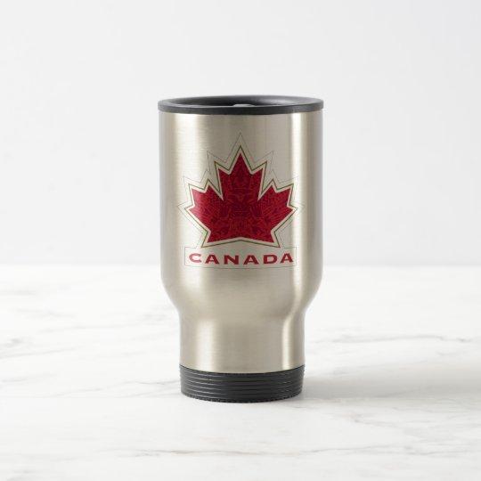 Equipo Canadá Taza De Viaje