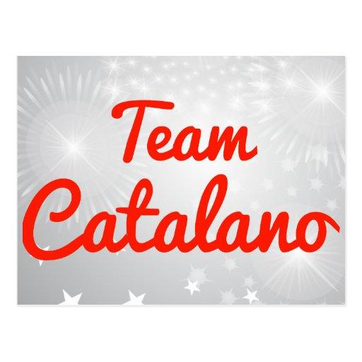 Equipo Catalano Tarjetas Postales