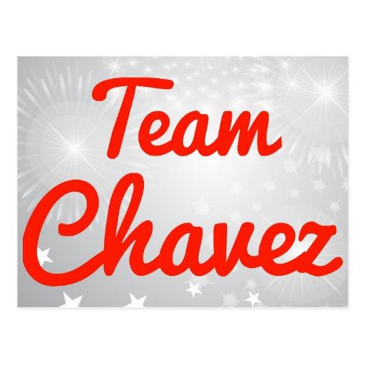 Equipo Chavez Tarjetas Postales
