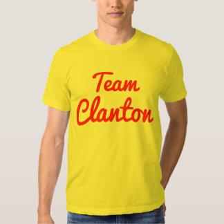 Equipo Clanton Camisas
