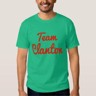 Equipo Clanton Camisetas