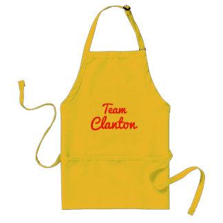 Equipo Clanton Delantal