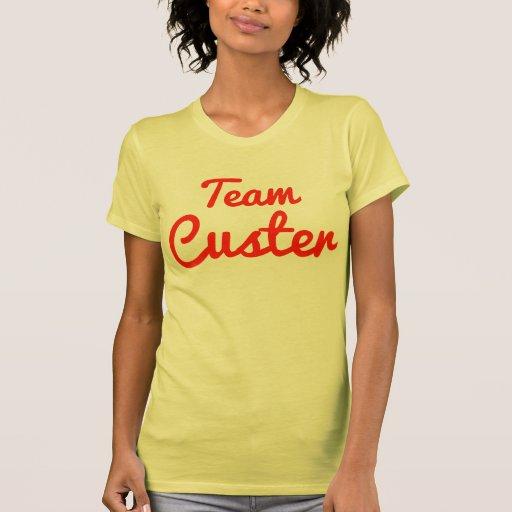 Equipo Custer Camiseta
