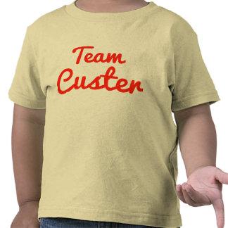 Equipo Custer Camisetas