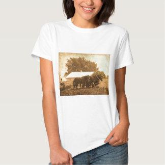 Equipo de Amish en sepia Camisas