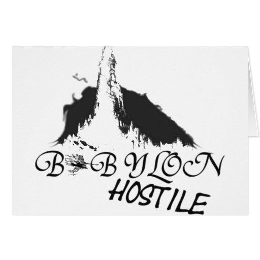equipo de Babilonia Tarjetón