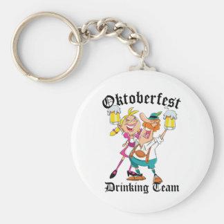 Equipo de consumición de Oktoberfest Llavero