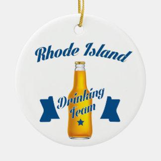 Equipo de consumición de Rhode Island Adorno De Cerámica