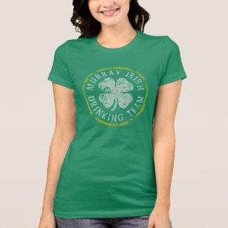 Equipo de consumición del irlandés de Murray Camiseta