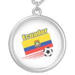Equipo de fútbol de Ecuador Colgantes Personalizados