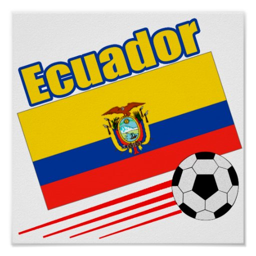 Equipo de fútbol de Ecuador Póster