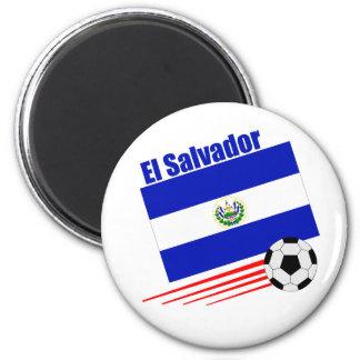Equipo de fútbol de El Salvador Imán Redondo 5 Cm